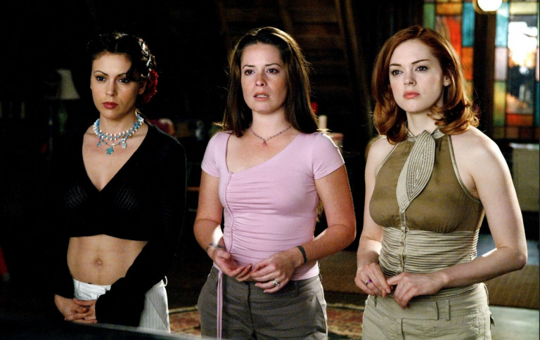 *Charmed*, Alyssa Milano, Holly Marie Combs, Rose McGowan (1998-2006) © Getty Images